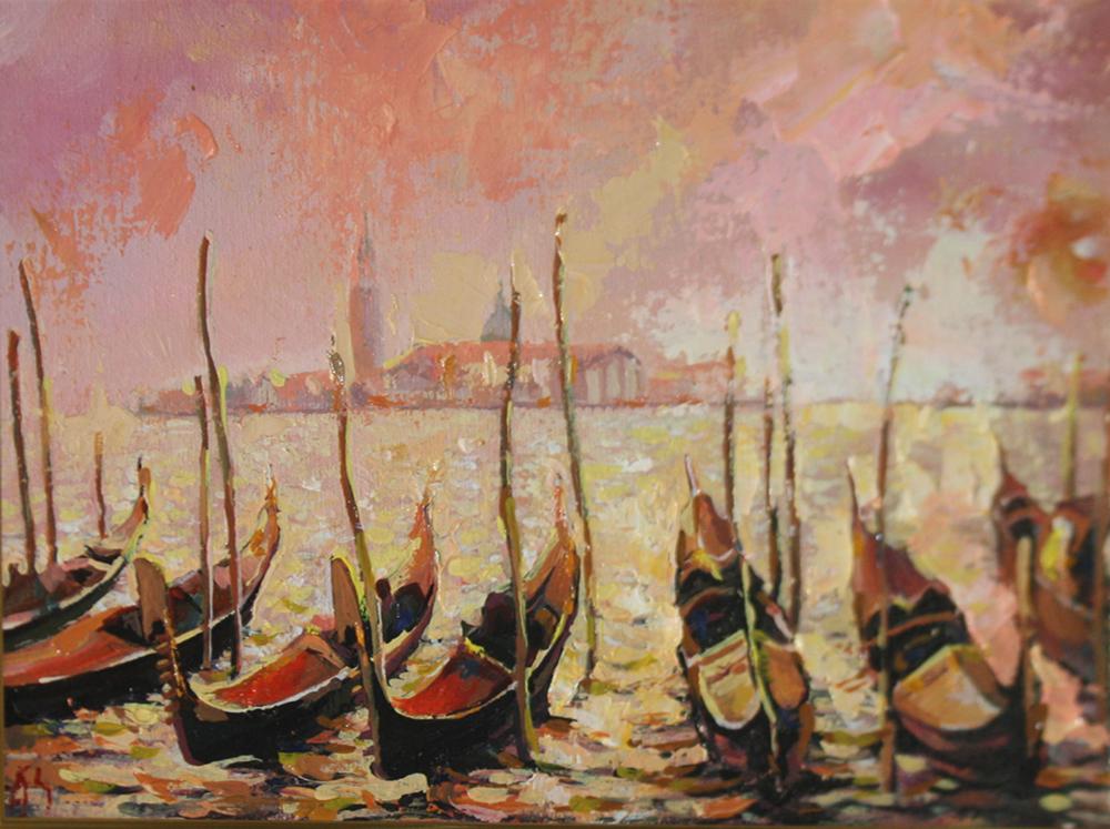 Венеция в розовом
