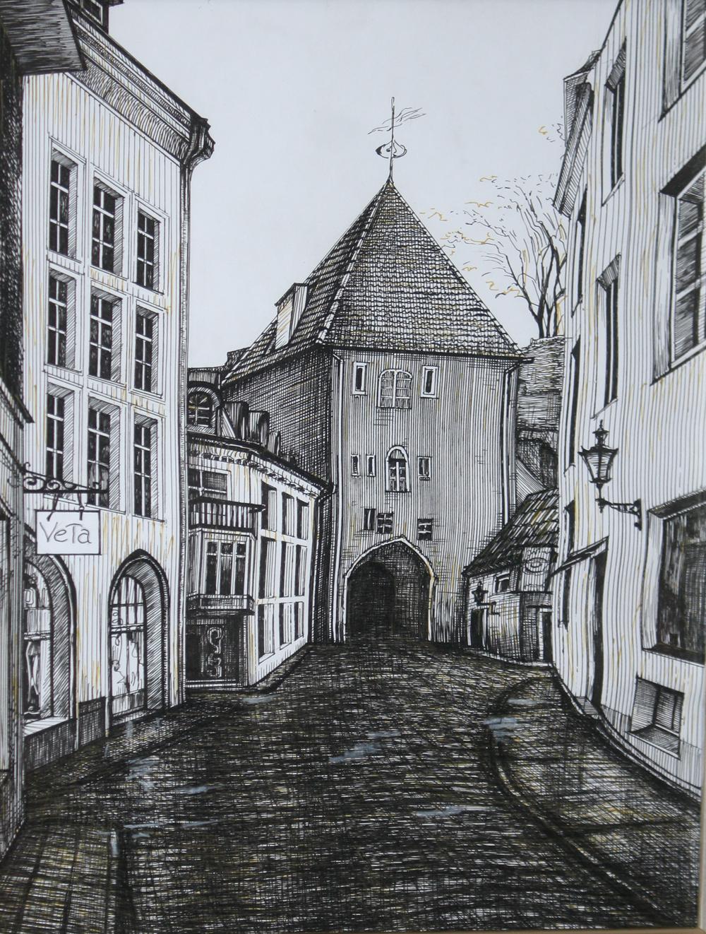 Европейский городок