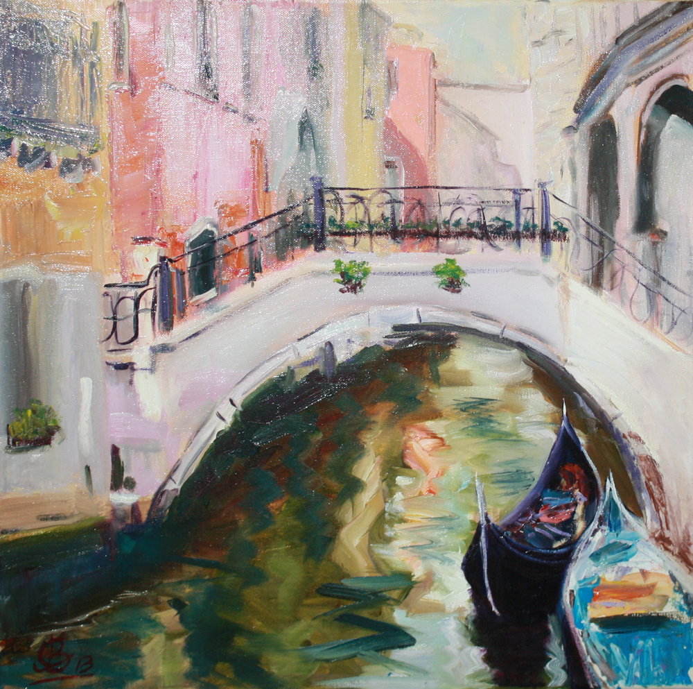 Мостик. Венеция.