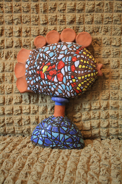 сувенир Рыбка на подставке