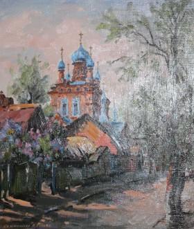 вид на Св. Георгиевский храм